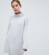Jersey grueso y extragrande con cuello subido de ASOS DESIGN Petite