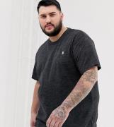Camiseta negro marga con logo de jugador Big & Tall de Polo Ralph Laur...